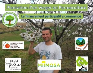 Verger en permaculture Gers